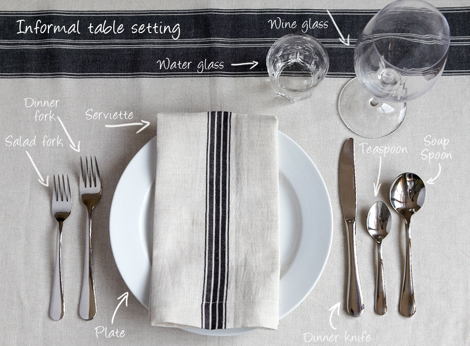 Mungo table setting