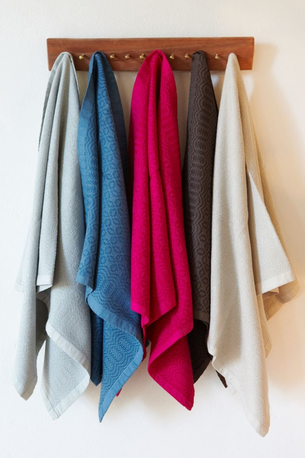 cotton and bamboo towels