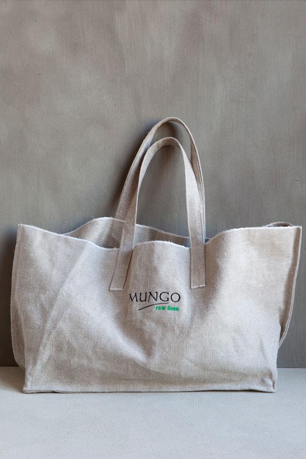 Linen Shopper from Mungo