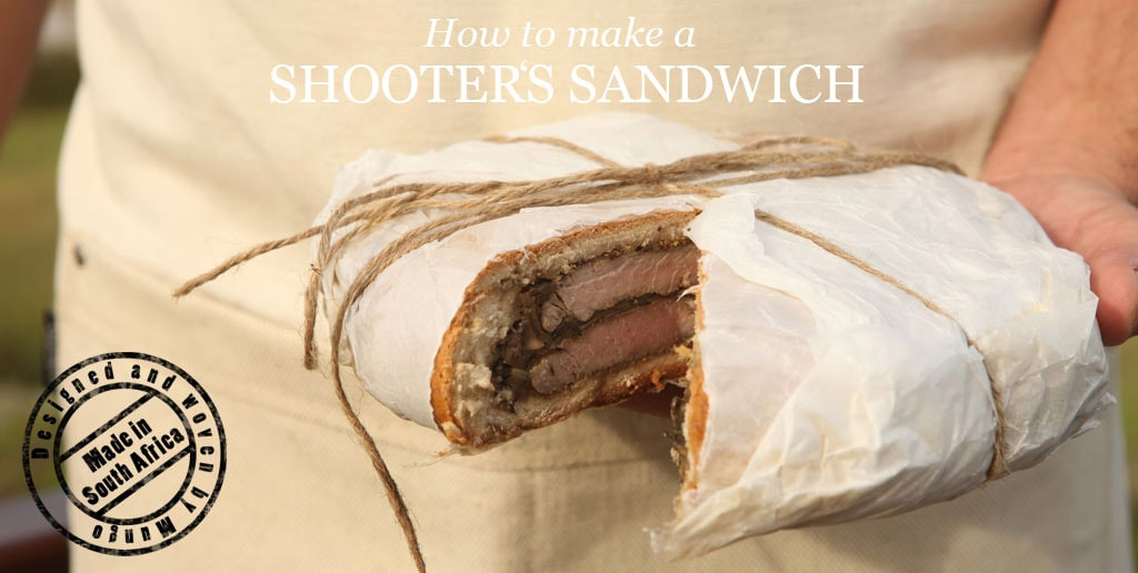 How to make a shooter's sandwich