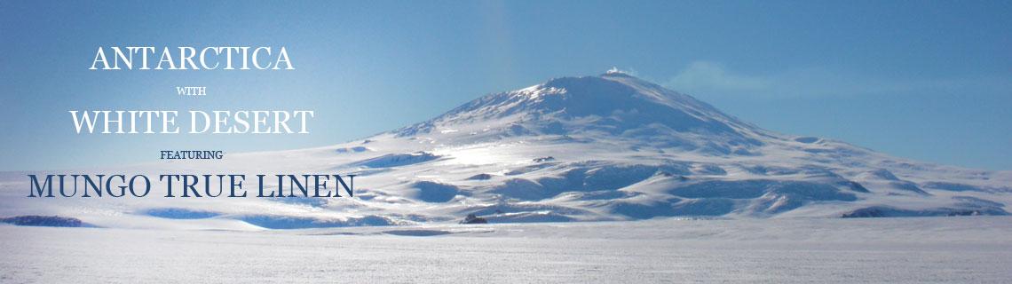 linen in antarctica