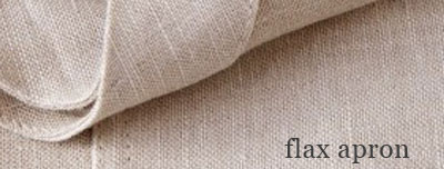 flax apron