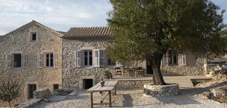 Villa Kalos features Mungo Textiles