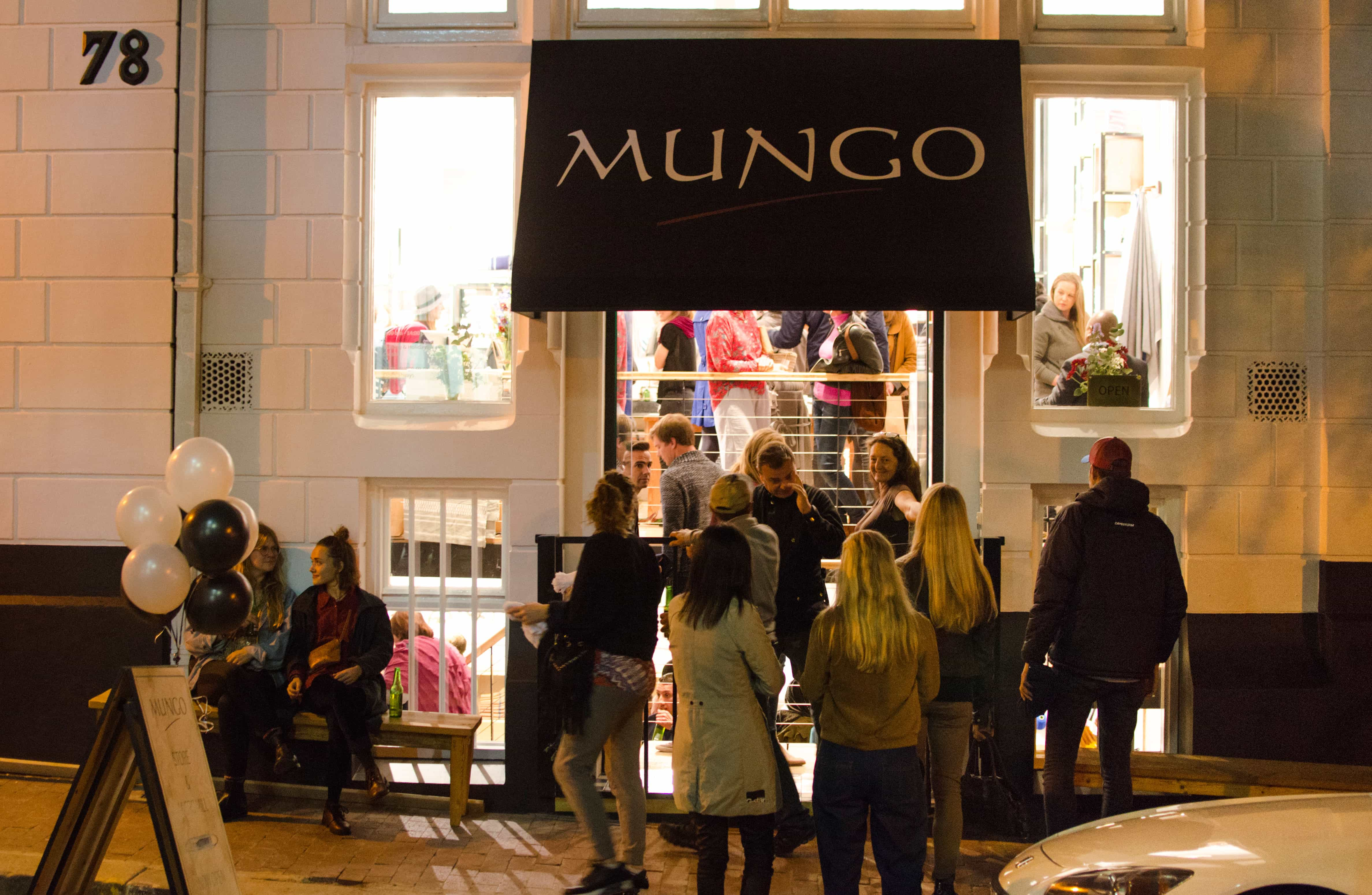 Mungo textiles new store opening Cape Town
