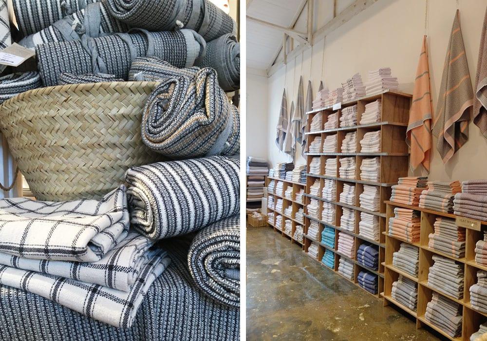 Locally made Textile Pop Up Shop