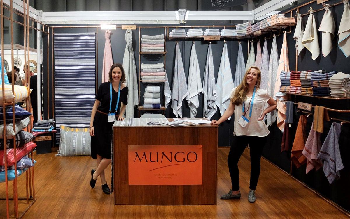 Woven Textiles Mungo NY Now