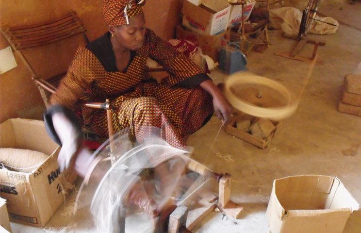 Weaving Mali Spinning