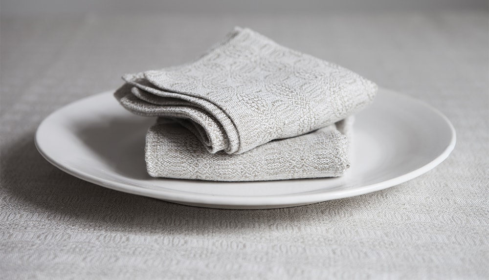 pure linen table linen