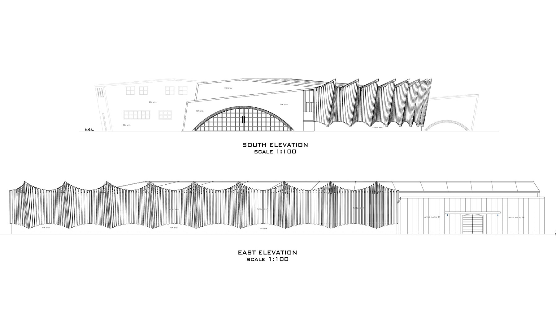 Architectural plans - Weaving Mill