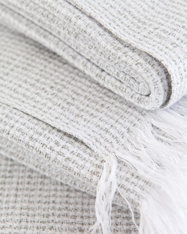 Mungo - Summer Towel - Grey - Detail