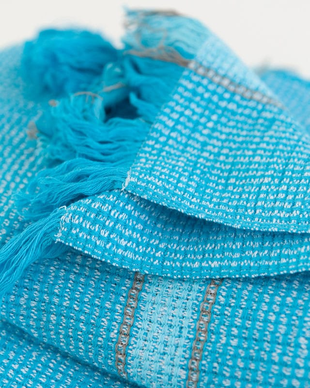 Mungo - Summer Towel - Turquoise - Detail