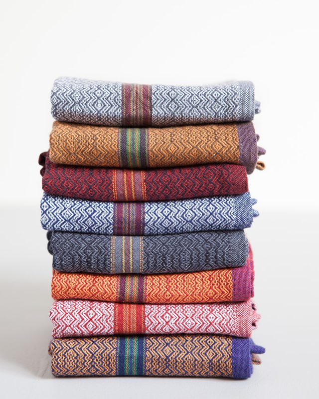The Mungo Boma cloth napkins are inspired by the colours of Africa. Find the one to suit your home.