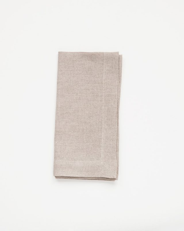 Natural Flax Napkins woven by Mungo In South Africa