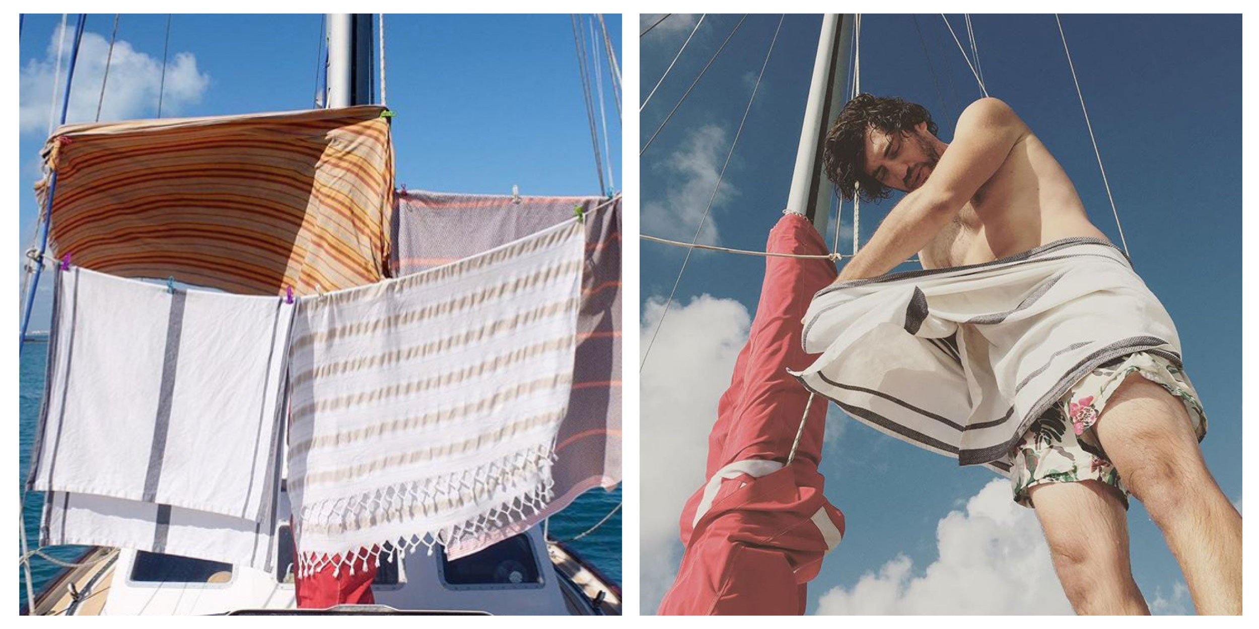 Mungo Towel Story. Compact lightweight towels for traveling