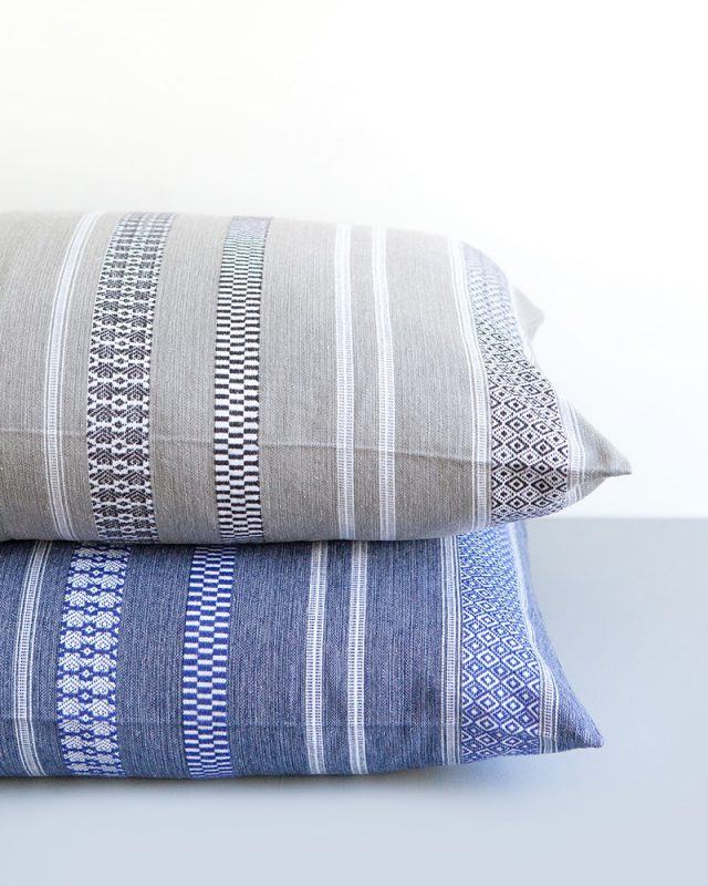 Mungo Mali Cushion Covers. Inspired by West-African designs. Woven in South Africa at the Mungo Mill