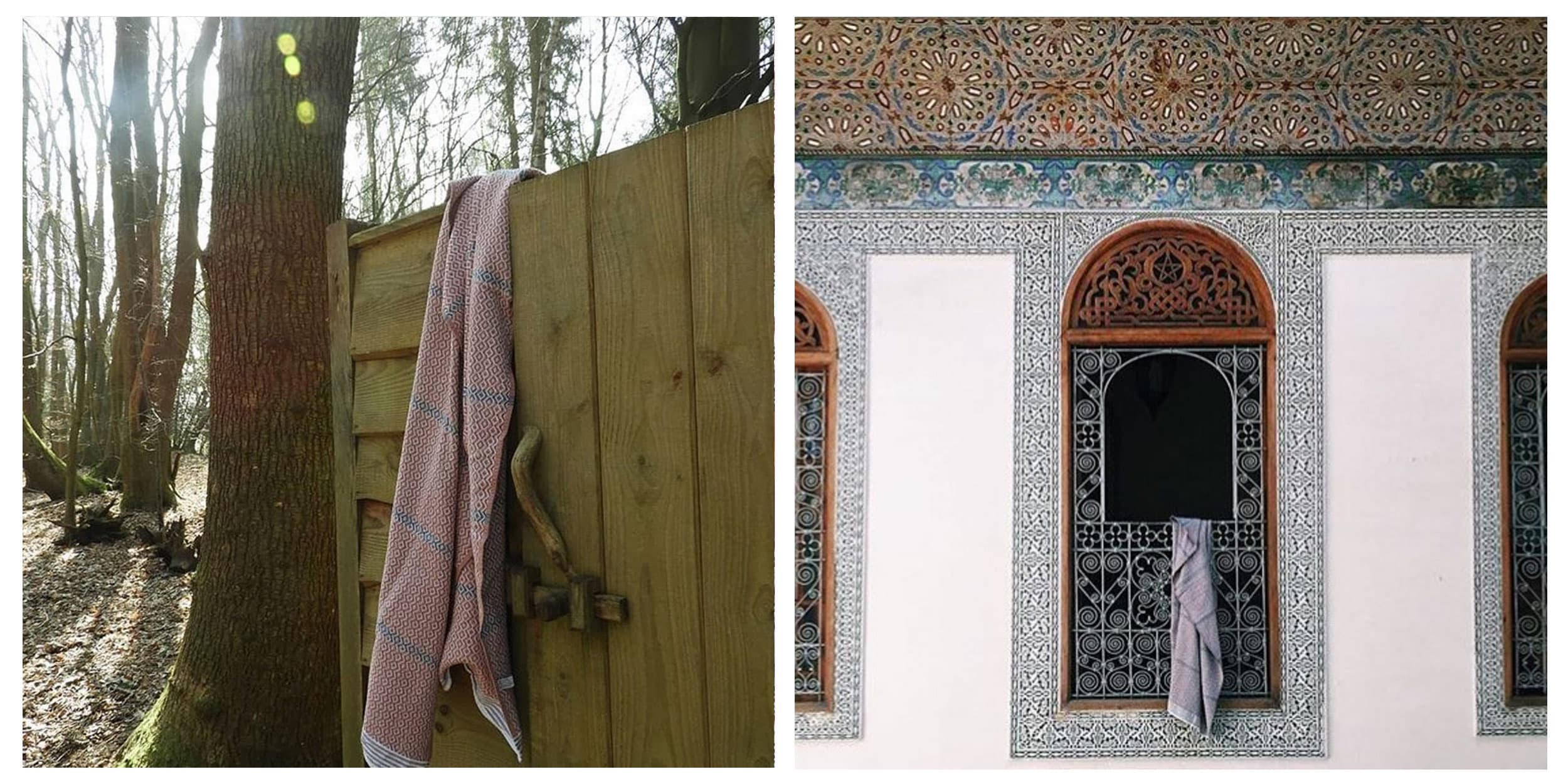 Mungo instagram competition asking followers to share their towel photographs. Featured here is the Itawuli in Morocco