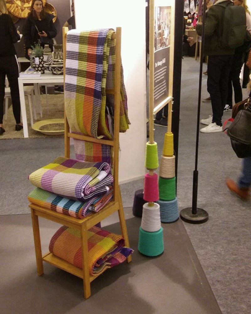 The Vrou-Vrou prototype appeared on our stand at Maison Objet in Paris