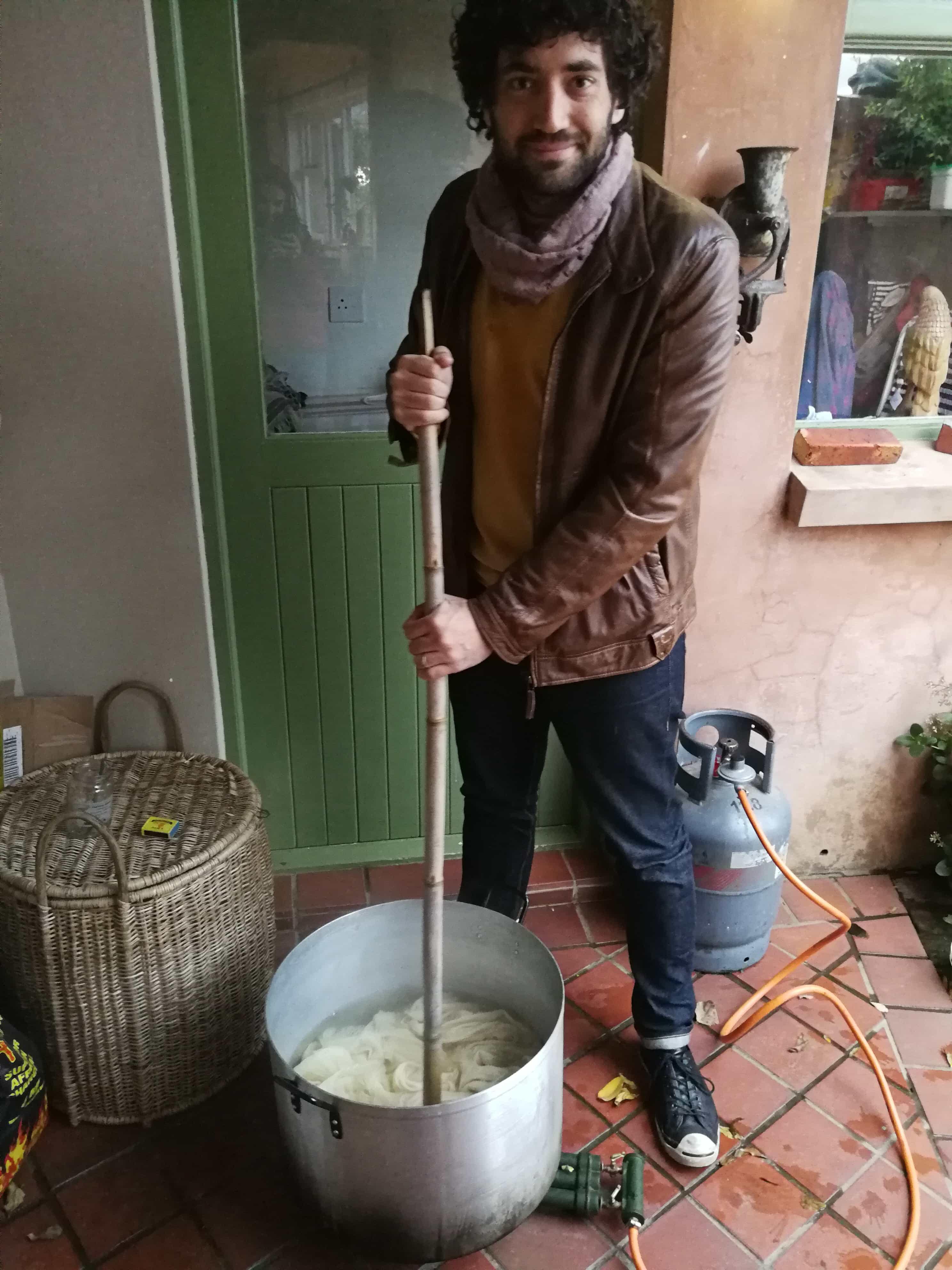 Craig dyeing using natural dye