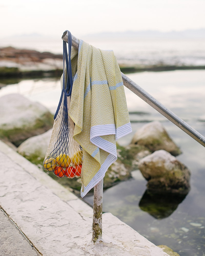 Mungo Summer lookbook for the new Soleil Tawulo towel