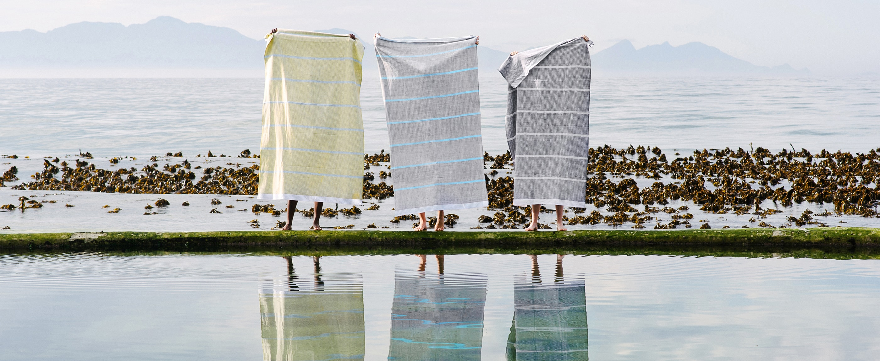 The new Soleil colourway now available for the Tawulo towel range