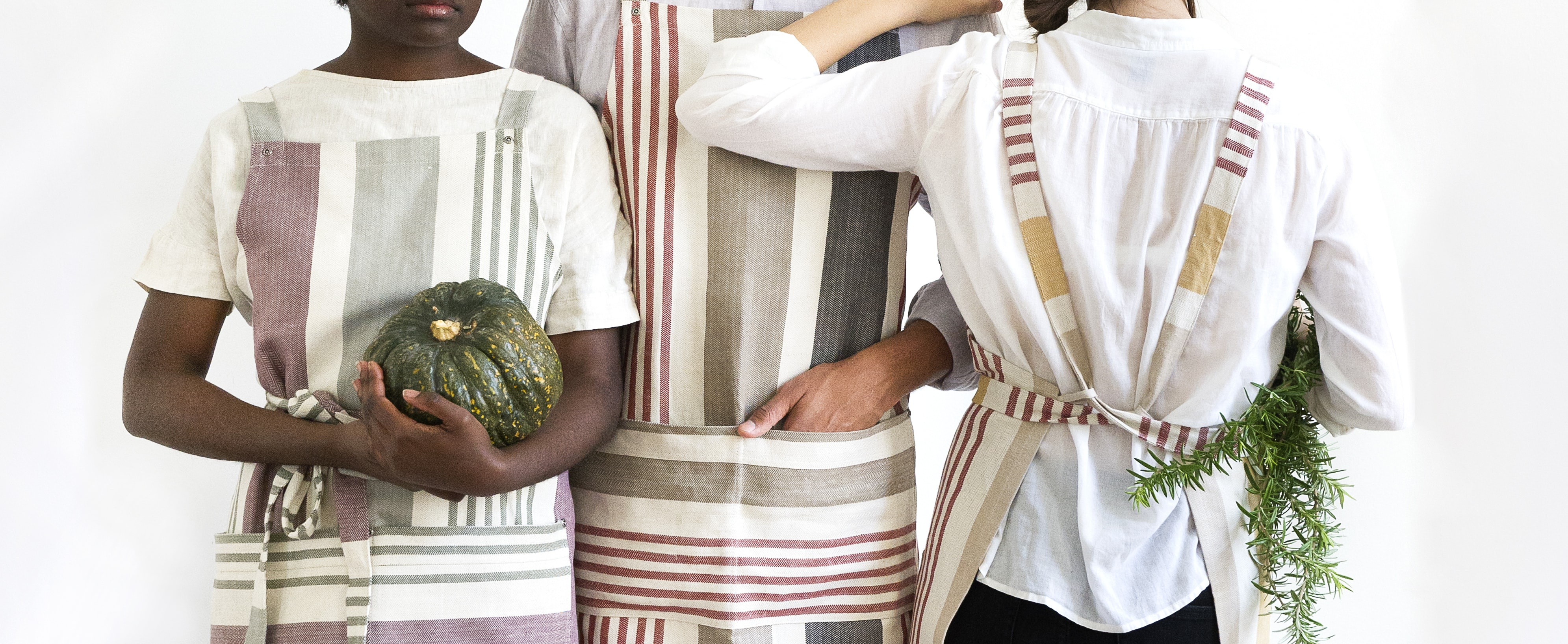 The Mungo Chefs Apron, designed, woven and made in South Africa