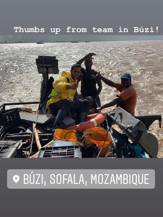 Mungo supporting sussuro in their relief program for Cyclone Idai