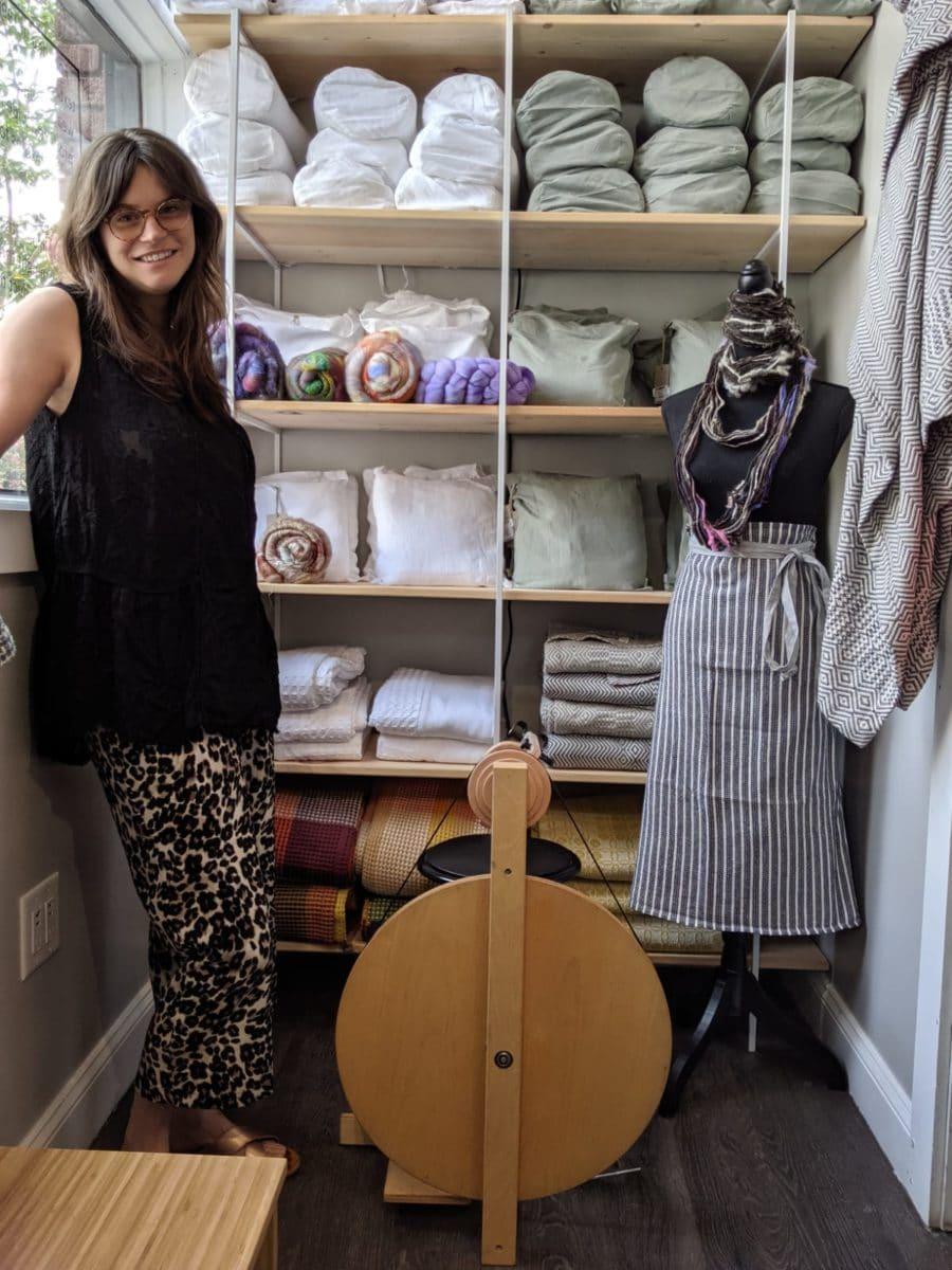 Rachel Neil, shop manager of Mungo Charleston, South Carolina