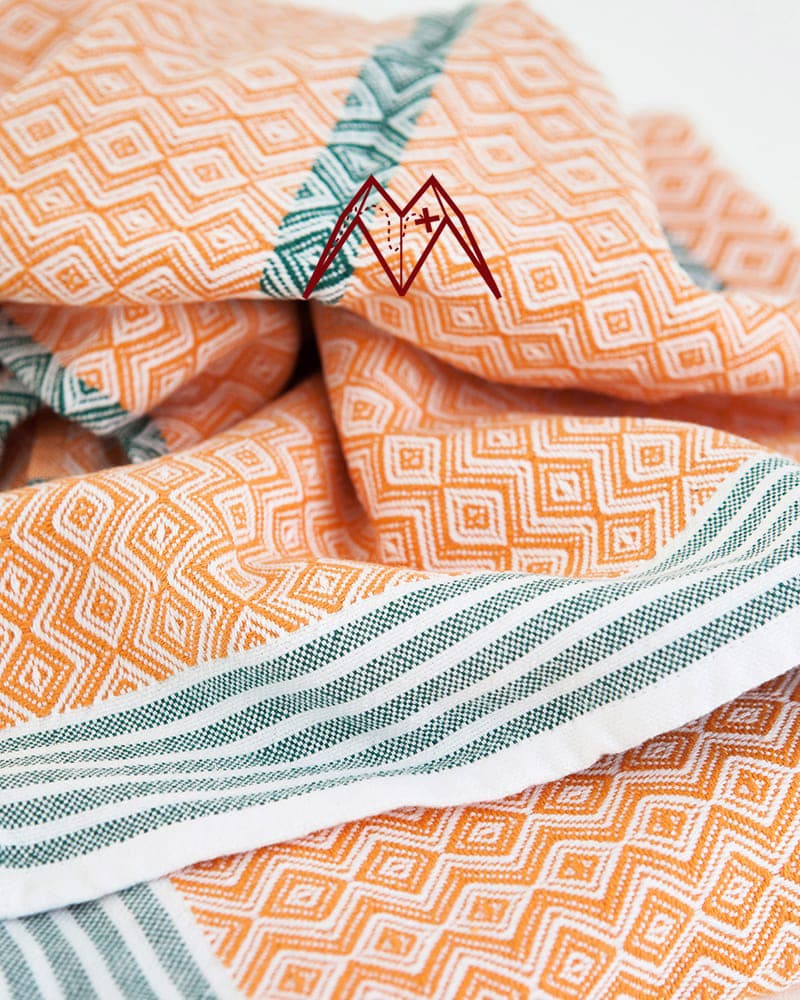 Mungo Itawuli in African sunset - day of our Mungo Treasure Hunt special. A 100% cotton towel woven at the Mungo Mill in Plettenberg Bay, South Africa