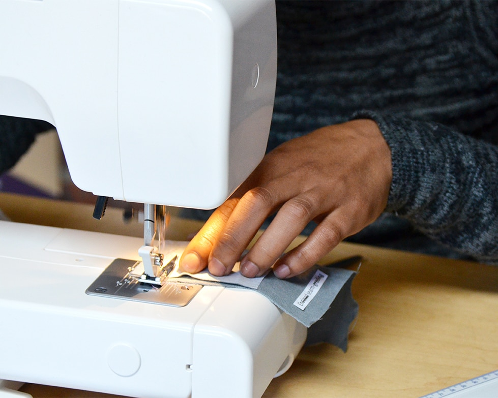 2019 Staff Sewing Workshop - held at the Mungo Mill as part of the Mungo CSR, MOVE