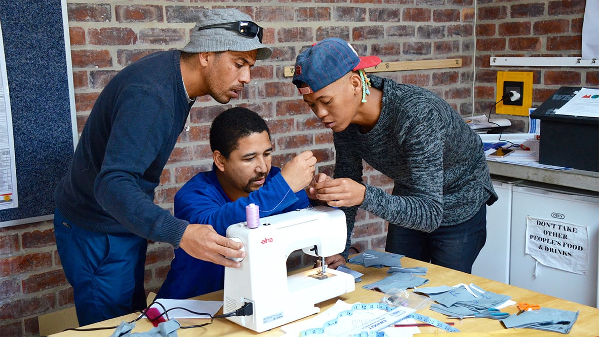 Mungo recently held a Staff Sewing Workshop - an initiative of Mungo's Corporate Social Responsibility, MOVE that provides Mungo staff with skills training, workshops and self-development talks