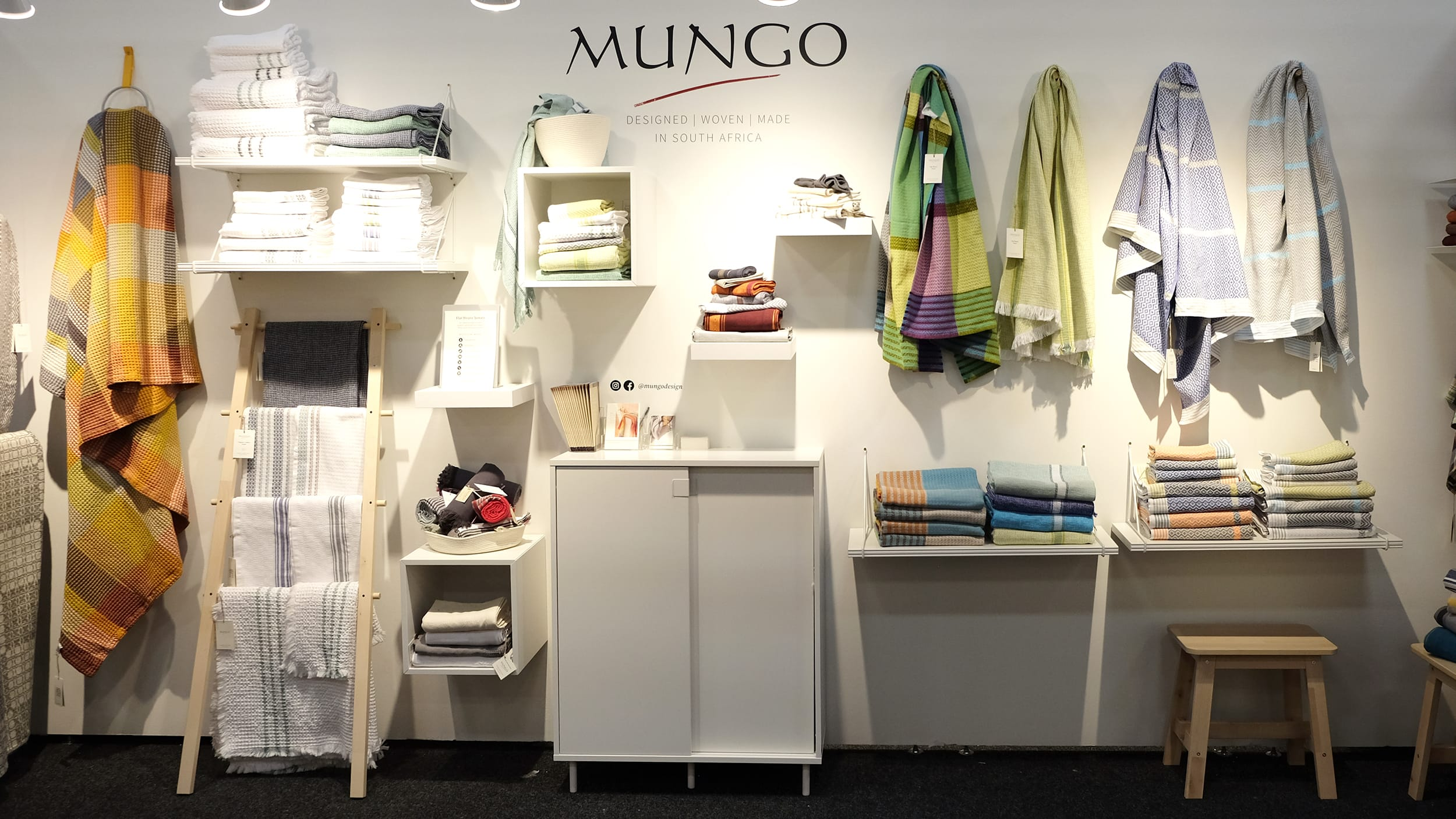exhibitors stand Mungo home textiles New York's new trade show Shoppe Object